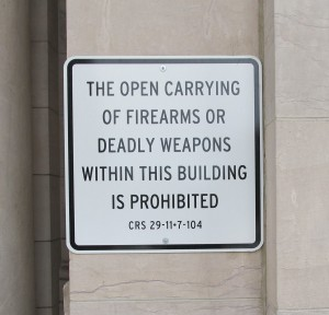 Concealed Carry Restrictions